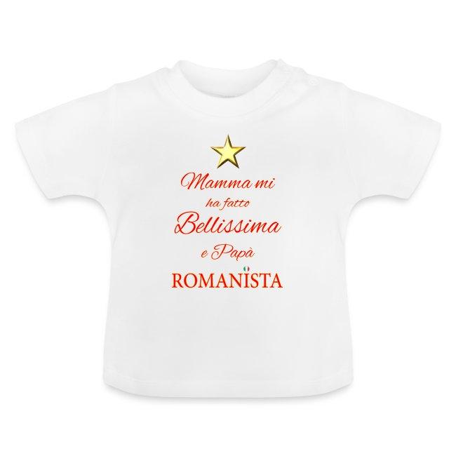 Frase Bimba Romanista Camiseta Bebé
