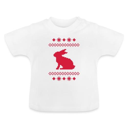 Norwegerhase hase kaninchen häschen bunny langohr - Baby T-Shirt