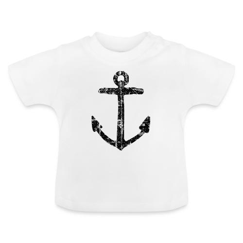 Anker (Vintage/Schwarz) - Baby T-Shirt
