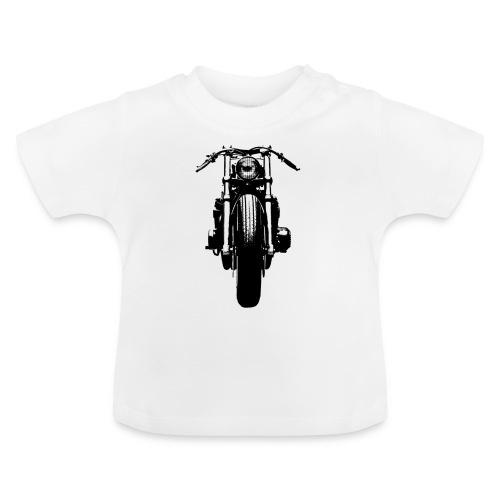 Motorcycle Front - Baby T-Shirt