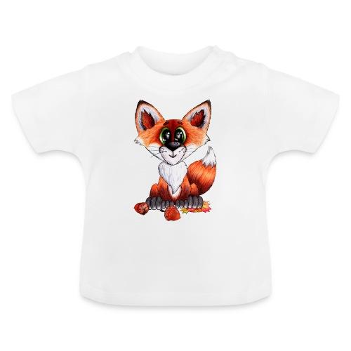 llwynogyn - a little red fox - Baby T-shirt