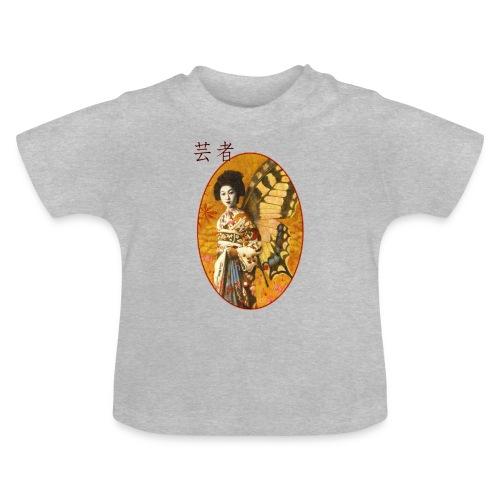 Vintage Japanese Geisha Oriental Design - Baby T-Shirt