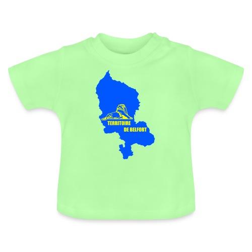 Territoire de Belfort + Lion PNG - T-shirt Bébé