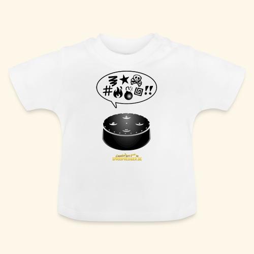 lustiges T-Shirt-Design Alexa flucht - Baby T-Shirt