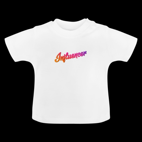 Influencer Instagram Youtube Youtuber - Baby T-Shirt