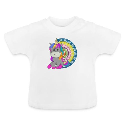 Unicorno Mandala - Maglietta per neonato