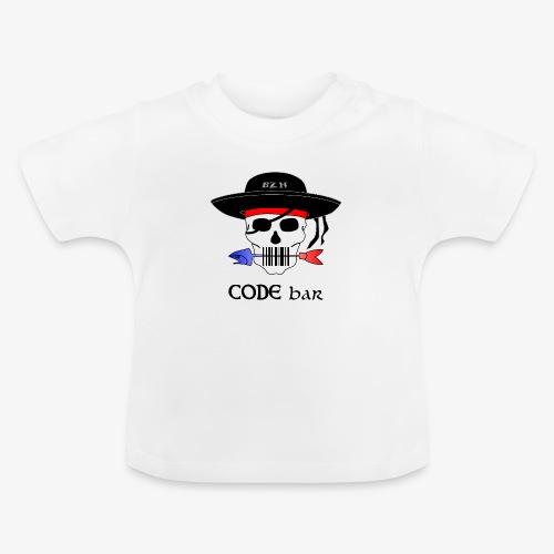Code Bar couleur - T-shirt Bébé