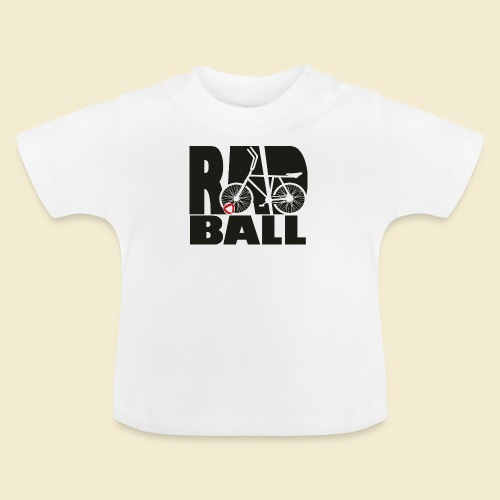 Radball | Typo Black - Baby T-Shirt