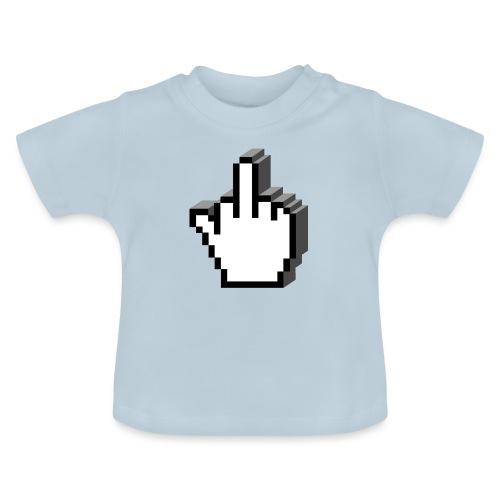 Middle_Finger_Design - Baby T-Shirt