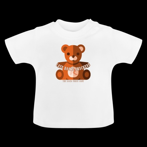 Rocks Teddy Bear - Brown - Baby T-shirt