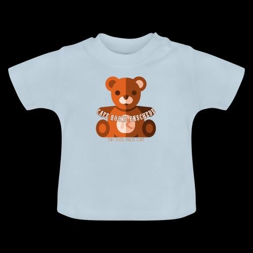 Rocks Teddy Bear - Brown - Baby T-shirt