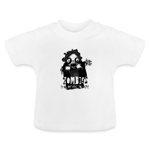 zombies - the only meat eaters i truly respect sv - Baby-T-shirt