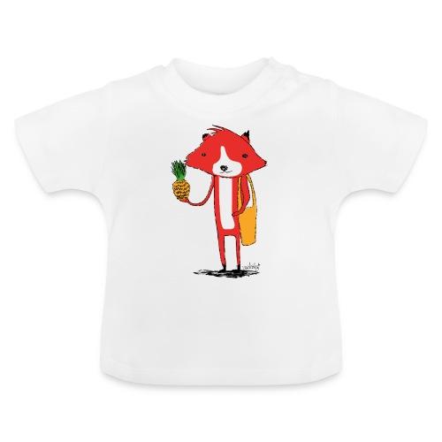 Ananasfüchslein - Baby T-Shirt