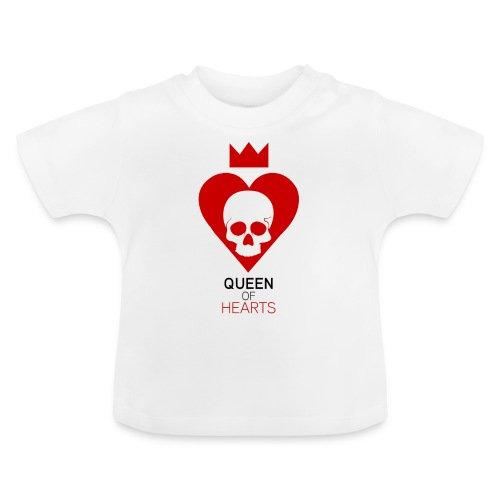 Tee shirt manches longues Reine des Coeurs - T-shirt Bébé