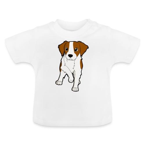 Breton bianco rosso - Maglietta per neonato