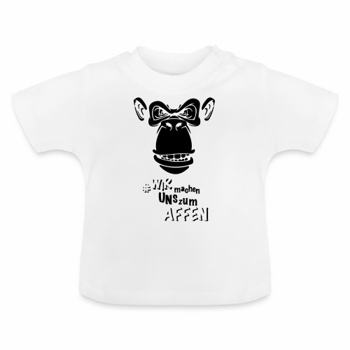 Angry Monkey - Baby T-Shirt
