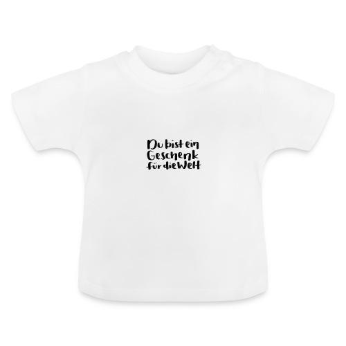 Montanjas Geschenk für die Welt - Baby T-Shirt