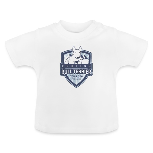 English Bull Terrier Mountains - Baby T-Shirt