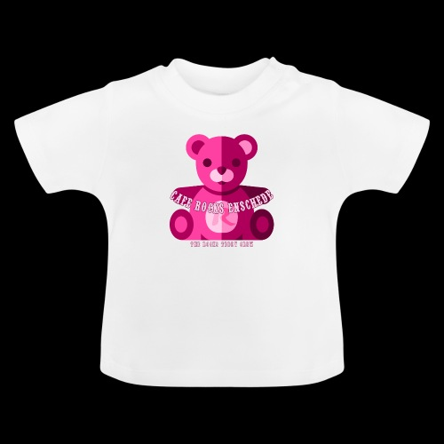 Rocks Teddy Bear - Pink - Baby T-shirt