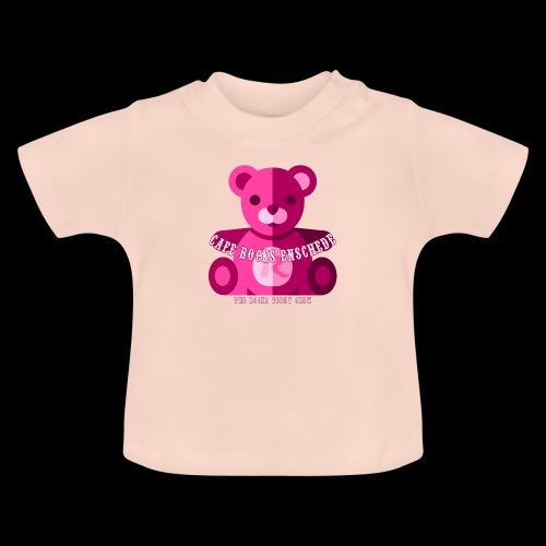 Rocks Teddy Bear - Pink - Baby T-shirt