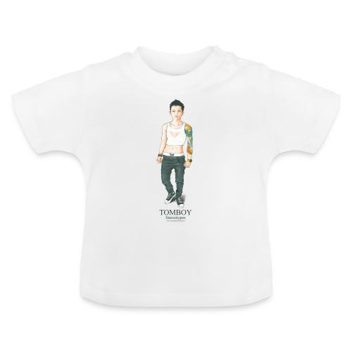 Tomboy. Stereotypes Collection. - Camiseta bebé