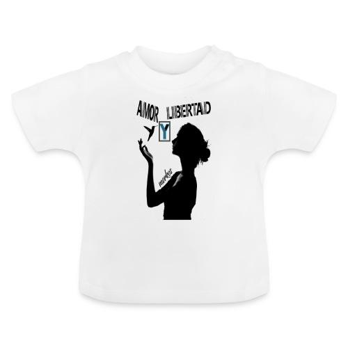merkos libertad - Camiseta bebé
