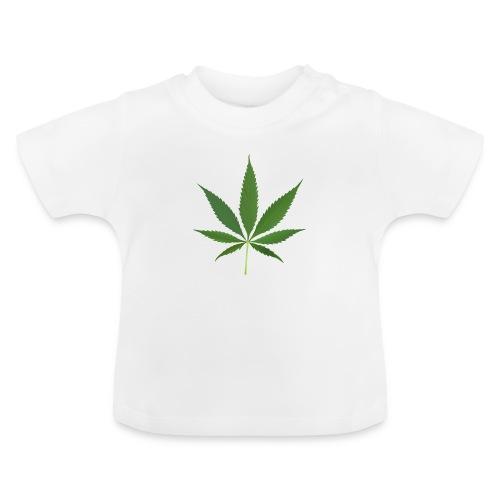 2000px-Cannabis_leaf_2 - Baby T-shirt