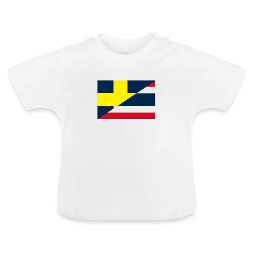 thailands flagga dddd png - Baby-T-shirt