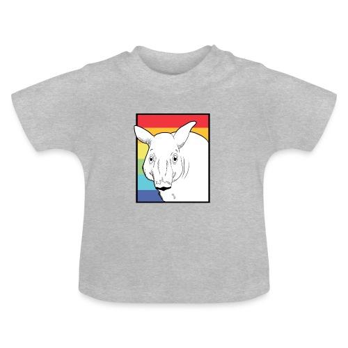 Tapir mit Regenbogen Farben - Baby T-Shirt