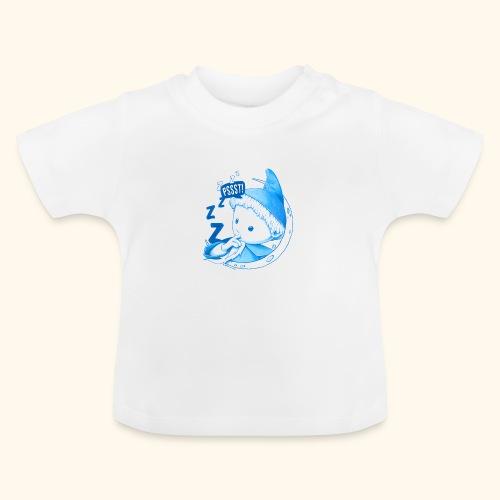 Unser Sandmännchen im Mond Pssst blau - Baby T-Shirt