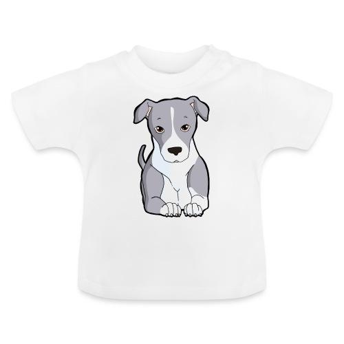 American Staffordshire/Pit bull Pezzato Blu - Maglietta per neonato