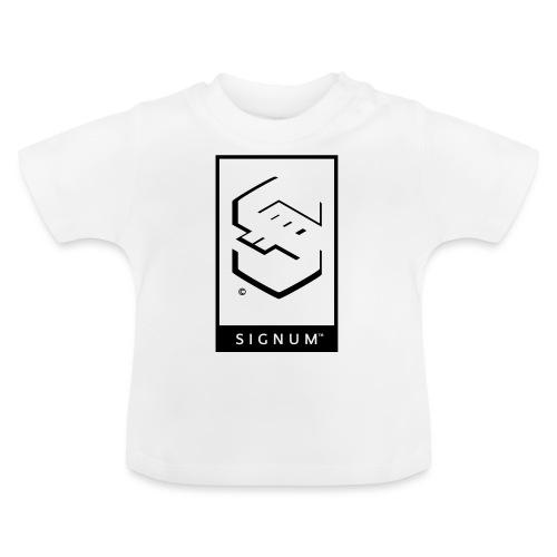 signumGamerLabelBW - Baby T-Shirt