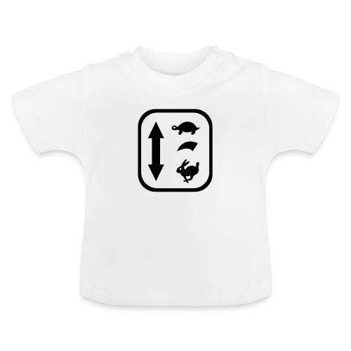 traktor schaltung - Baby T-Shirt