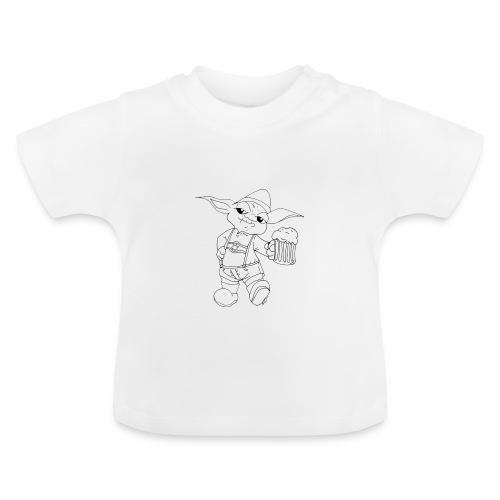 Yoda Lederhose - Baby T-Shirt