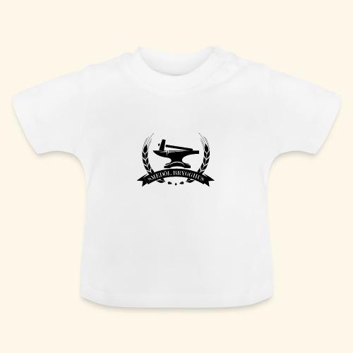 smedolvector svart - Baby-T-shirt