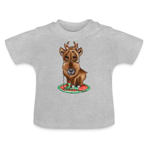 Reindeer refined scribblesirii - Baby T-shirt