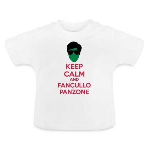 Fancullo panzone Keep Calm - Maglietta per neonato