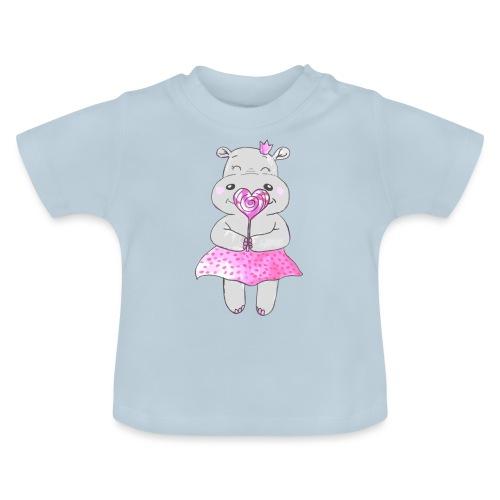 Happy Hippo - Baby T-Shirt