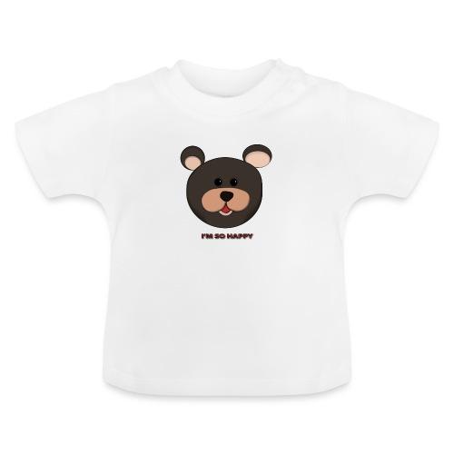 Osito feliz - Camiseta bebé