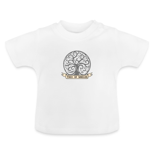 TOS grey tiny 3in png - Baby T-Shirt
