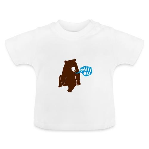 Bär sagt Miau - Baby T-Shirt