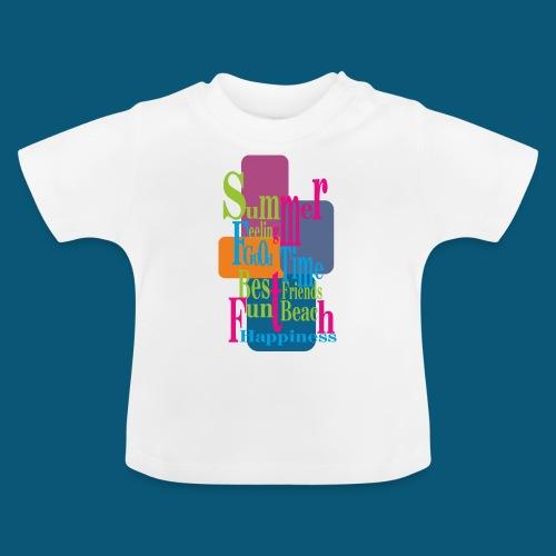Summer Feeling.png - Baby T-Shirt