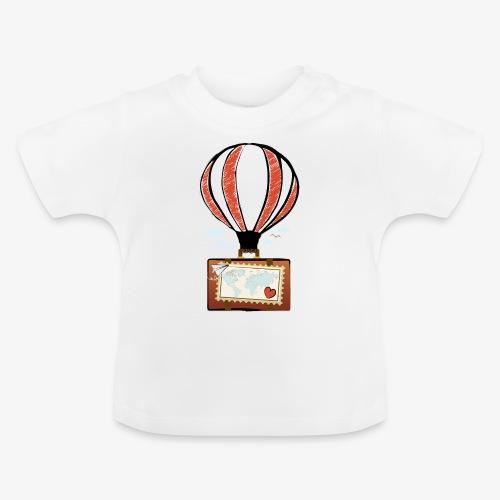 CUORE VIAGGIATORE Gadget per chi ama viaggiare - Maglietta per neonato