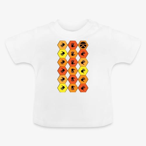 |K·CLOTHES| HEXAGON ESSENCE ORANGES & YELLOW - Camiseta bebé