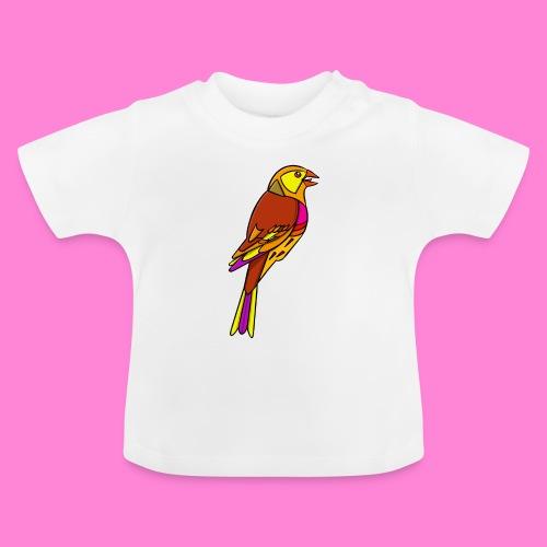 Geelgors illustratie - Baby T-shirt