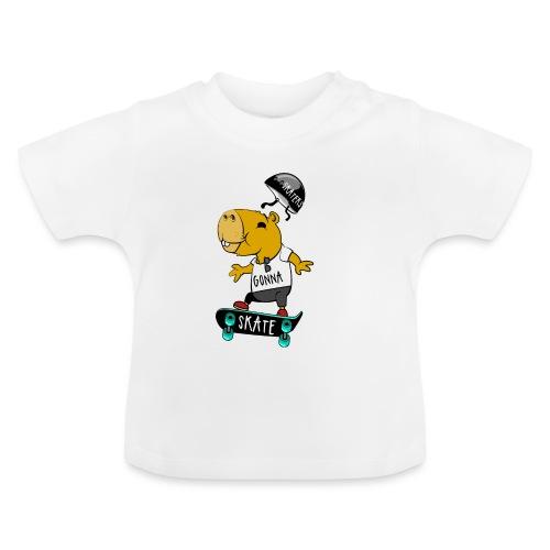Skater Capybara - Baby T-Shirt