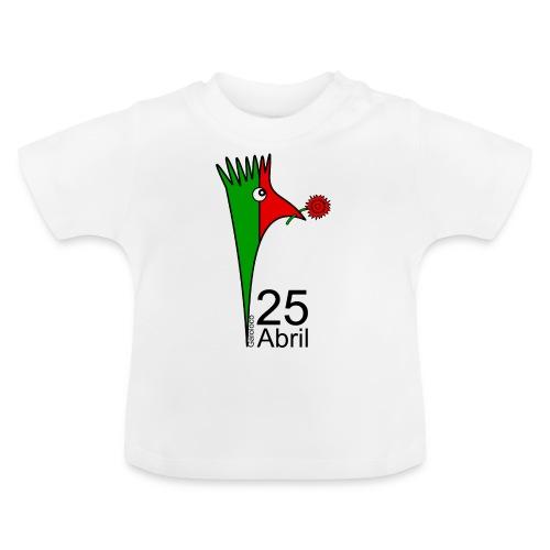 Galoloco - 25 Abril - T-shirt Bébé