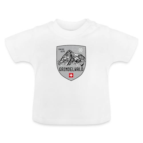 Grindelwald Switzerland coat of arms - Baby T-Shirt