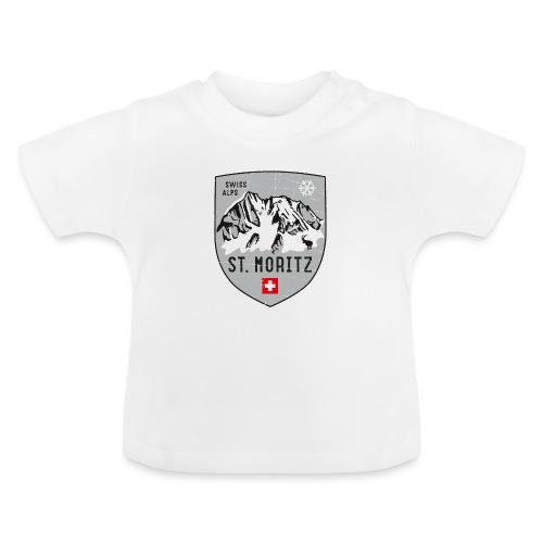 St. Moritz coat of arms - Baby T-Shirt