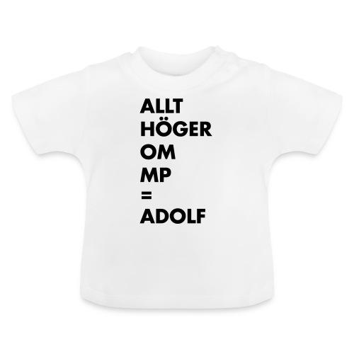 Allt höger om MP = Adolf - Baby-T-shirt